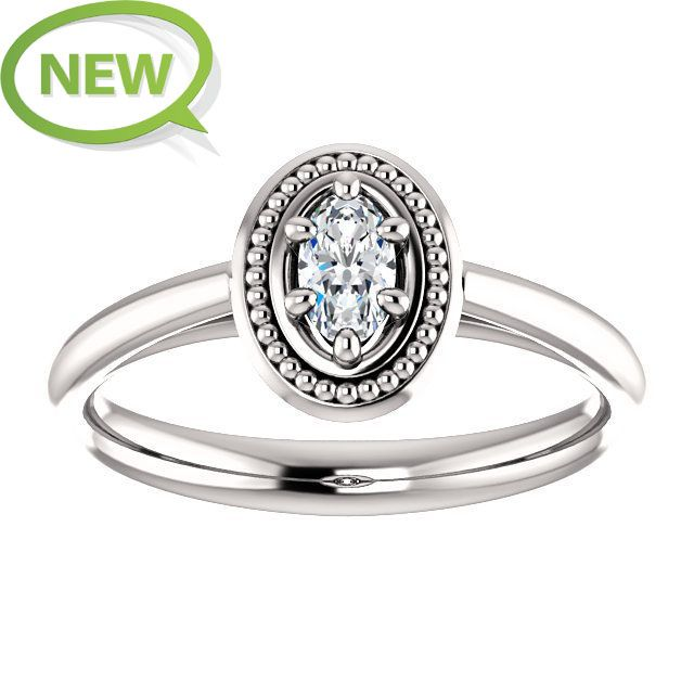10kt White Gold 5x3mm Center Oval Genuine Diamond Engagement Ring St71673 712 P Price 899 99 Stunning Diamond Rings Fashion Rings Unique Diamond Rings