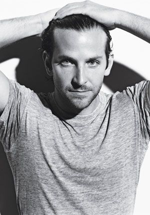 Bradley Cooper, needs to man up just a little and I'll eat him ... That smile ... *melt*