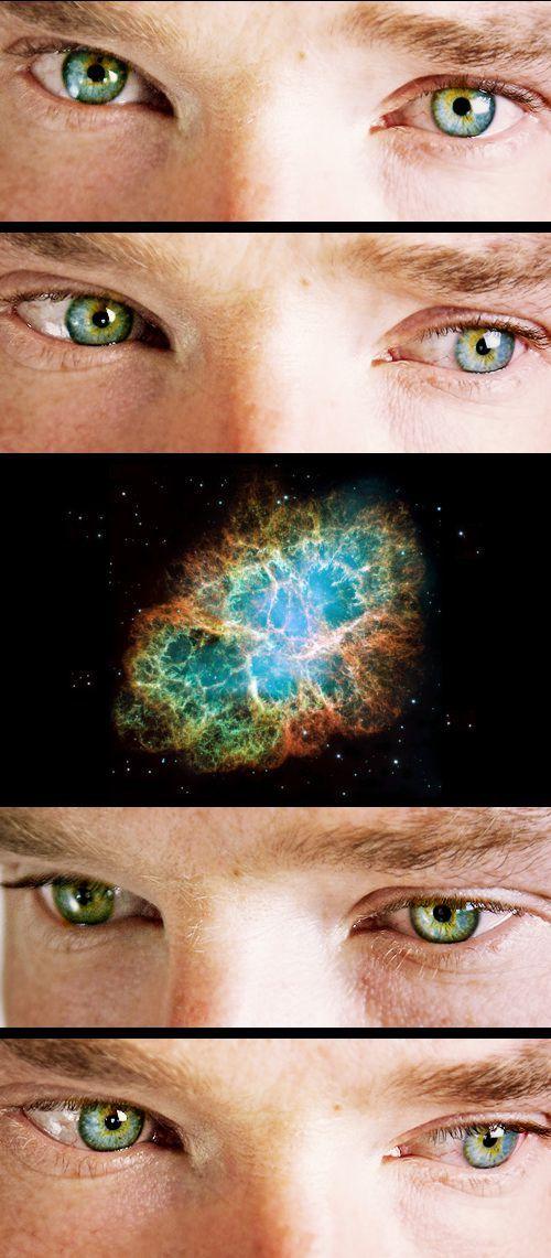 Benedict's eyes & the Crab Nebula
