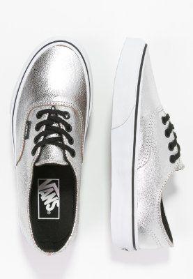 Vans AUTHENTIC DECON - Sneaker - silver/black - Zalando.de
