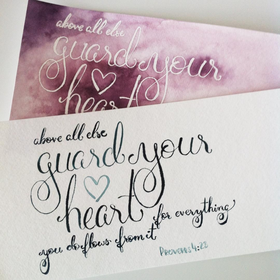 Trying Different Styles On An Earlier Project Proverbs 4