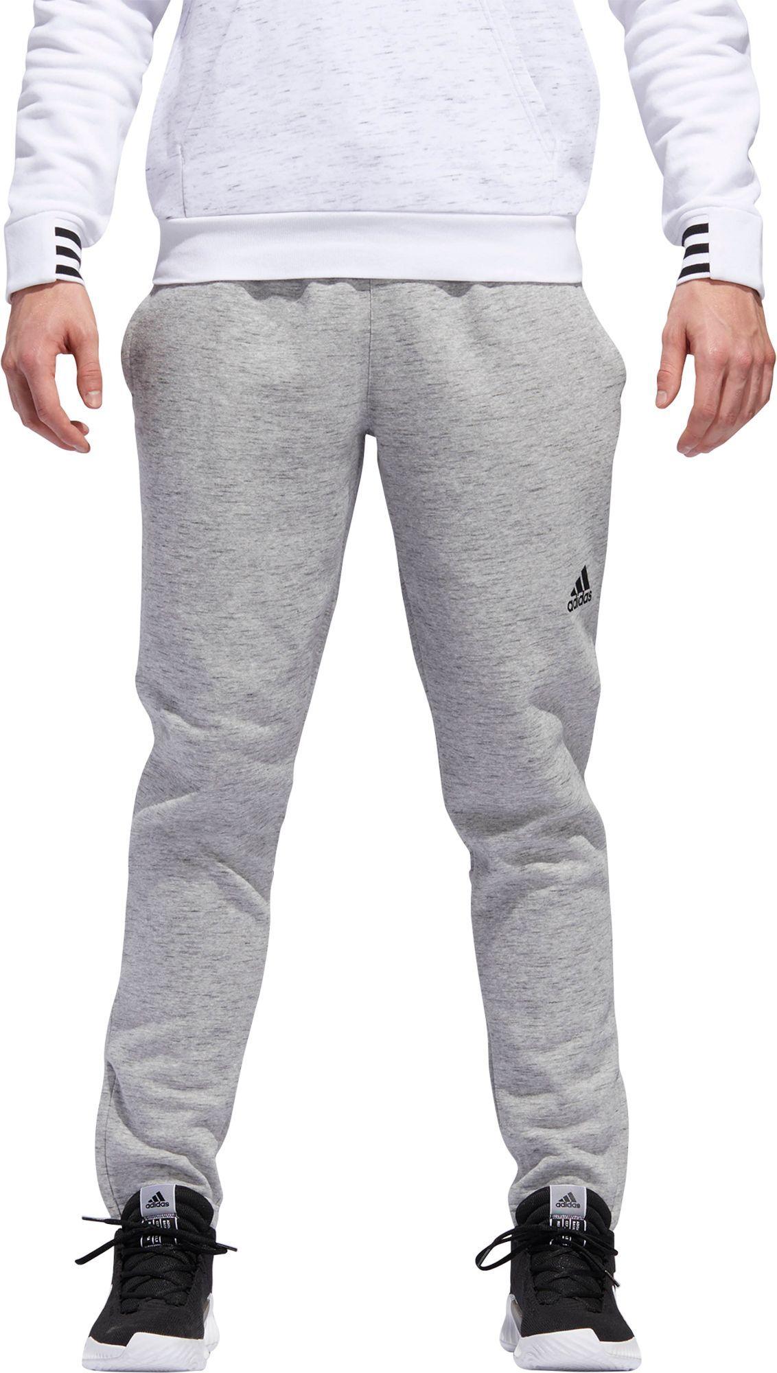 273abe5755b1 adidas Men s Post Game Fleece Tapered Pants