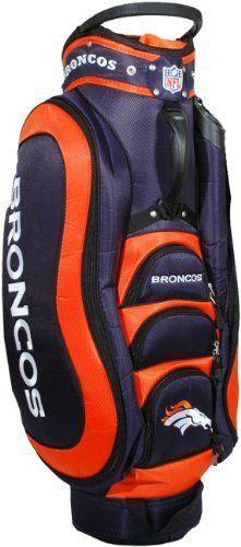 Nfl Denver Broncos Cart Golf Bag By Team 149 99 14 Way Dividers