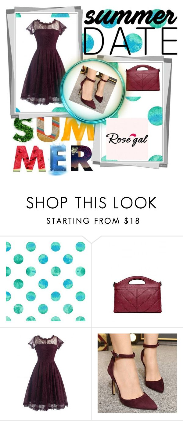 """""""Rosegal 25"""" by zerina913 ❤ liked on Polyvore featuring vintage and rosegal"""