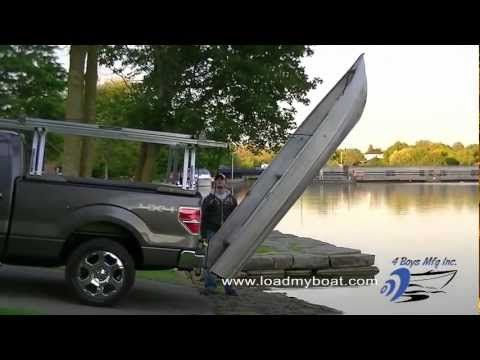 Automatic Rear Boat Loader Boat Kayak Fishing Boat Plans