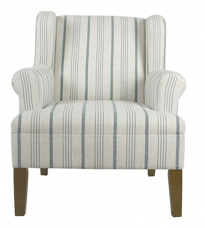 London Wingback Chair Blue Accent Chairs Wingback Chair
