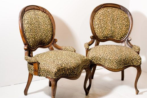 Antique Furniture Self-Conscious Pair Of 1920s Cane Bergere And Oak Single Beds