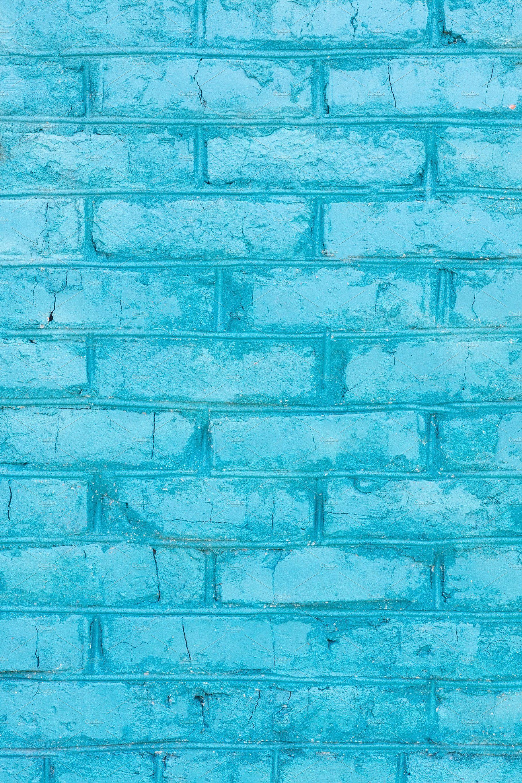 Blue Brick Wall Texture Blue Bricks Brick Wall Texture Painted Brick Walls