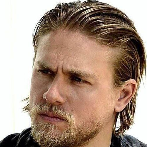 Jax Teller Hair Men S Hairstyles Haircuts 2020 Charlie Hunnam Jax Teller Haircut Long Slicked Back Hair