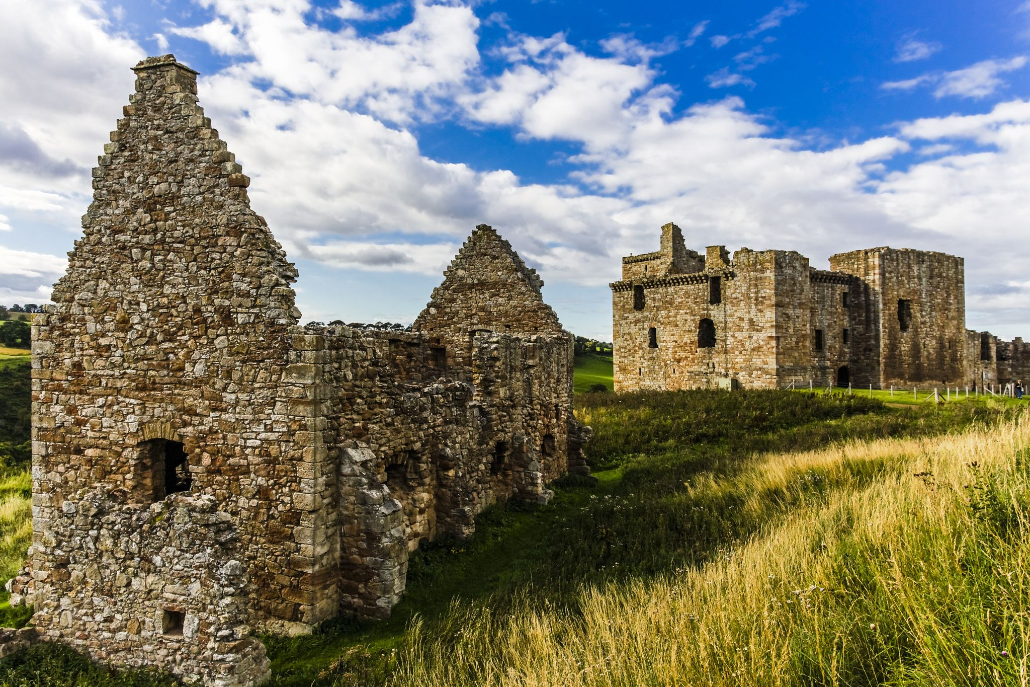 CHRICHTON Abbey & Castle by thomas h. mitchell on 500px