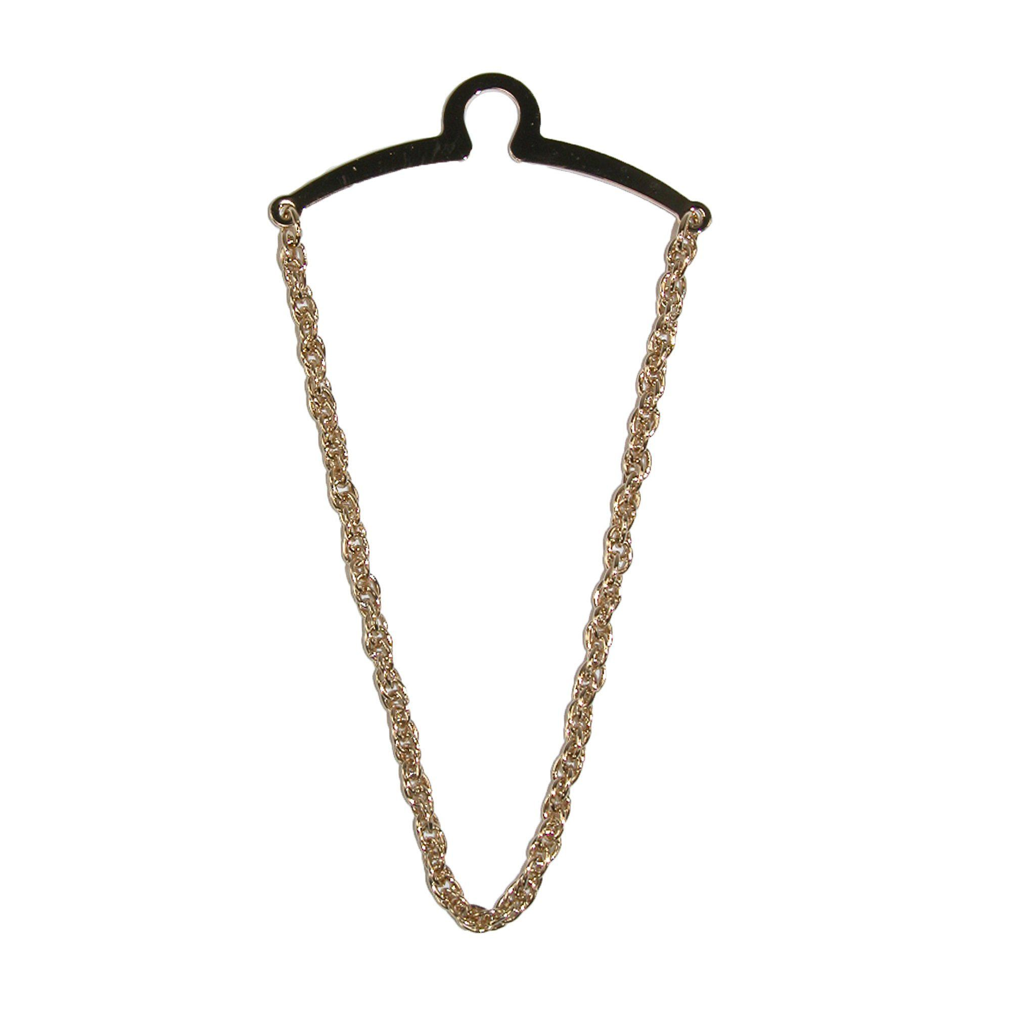 Mens Rope Style Tie Chain Gold Competition Inc