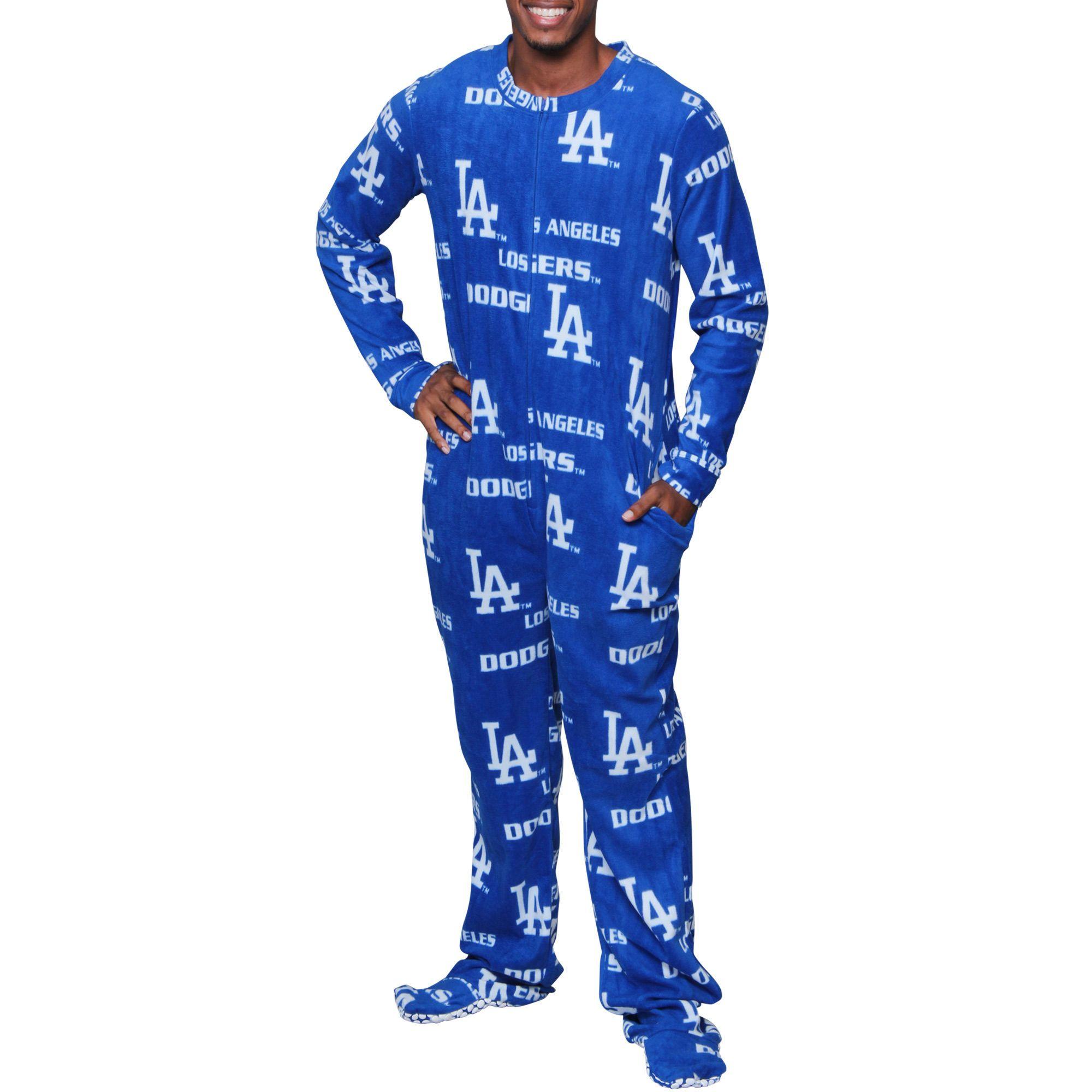 Los Angeles Dodgers Concepts Sport Union Suit Pajamas Royal Union Suit Pajamas Pajamas Union Suit