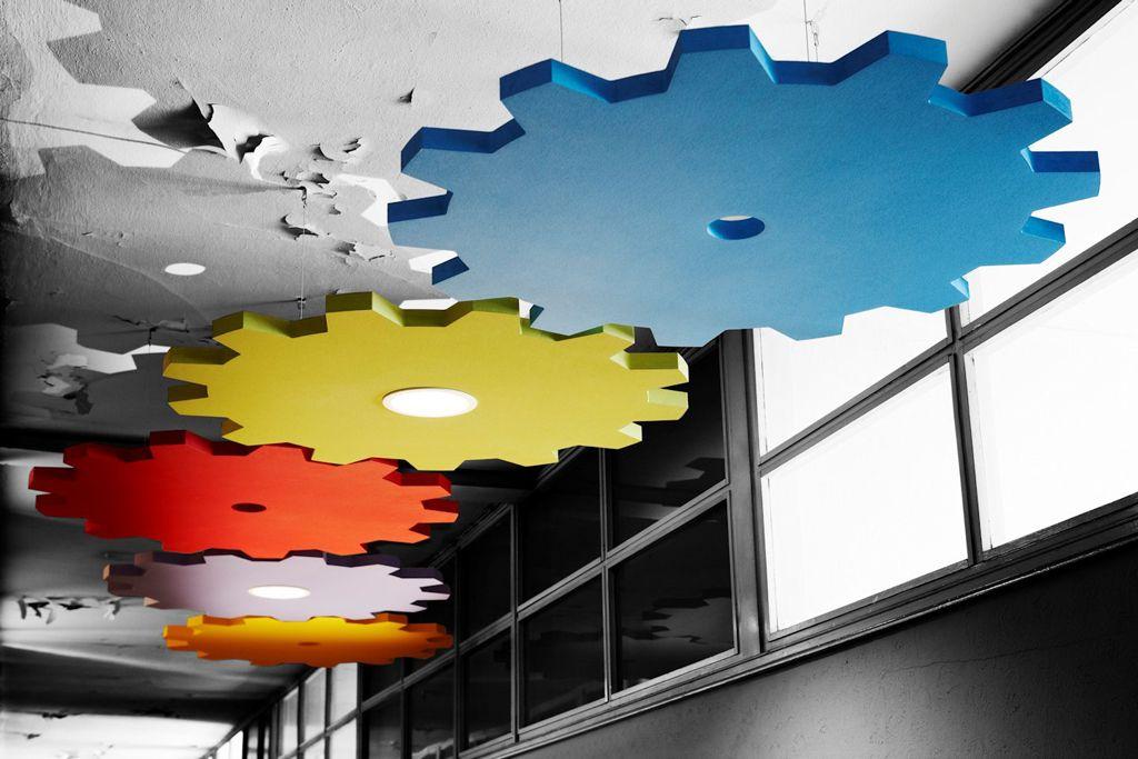 Deckensegel von Ecophon 67397 Building Materials Pinterest - deckengestaltung deckensegel