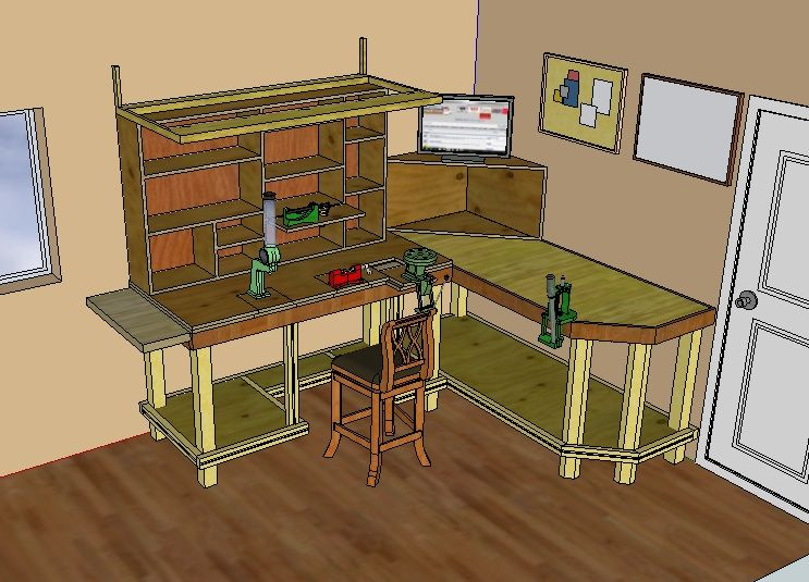 Reloading Bench Ideas Part - 22: Reloading Bench Ideas And Plans | ... Reloaderu0027s Blog | Discussion And  Evolution Of