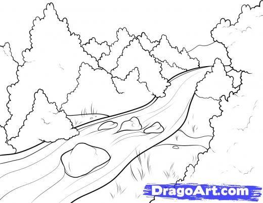 Line Drawing Uk : River line drawing tattoo tattoos pinterest
