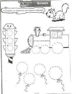 EDUCAÇÃO INFANTIL CIDADÃ: atividades de formas geométricas - imprimir
