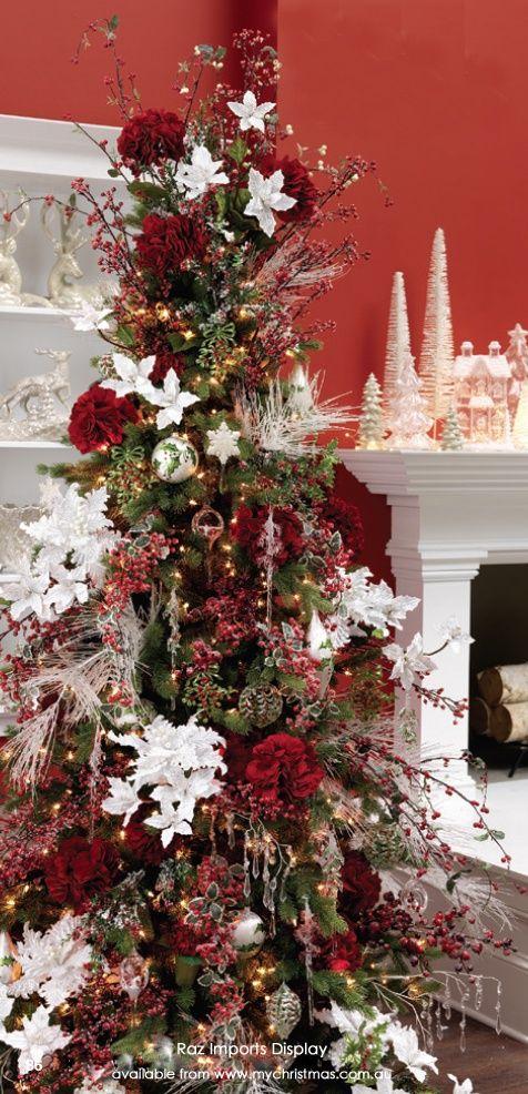 tendencias para decorar tu arbol de navidad 2017 2018 decorated christmas trees christmas. Black Bedroom Furniture Sets. Home Design Ideas