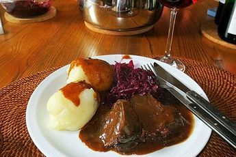 Photo of Grilled roast beef with red wine sauce from Krümel146 | chef