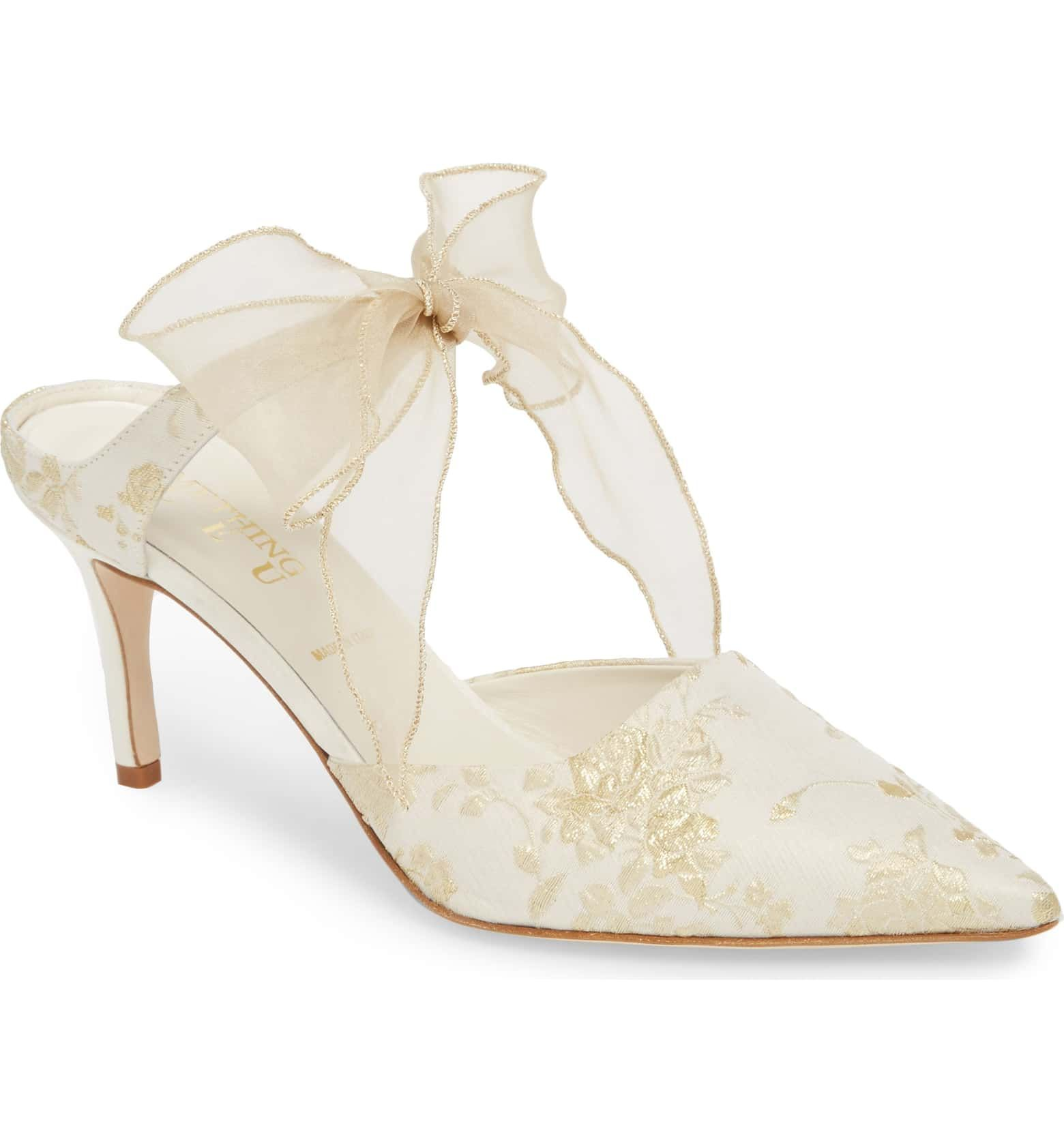 Elvie Pump Main Color Ivory Romance Kitten Heel Wedding Shoes Wedding Shoes Heels Women S Pumps