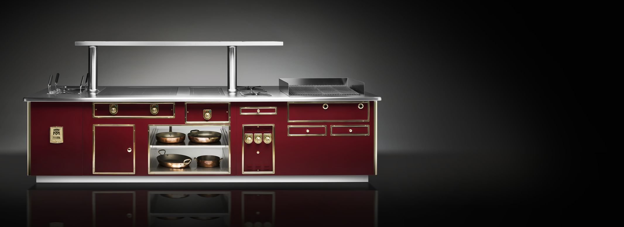 Molteni Küchen Few Other Names In The World Of Professional Cooking Are