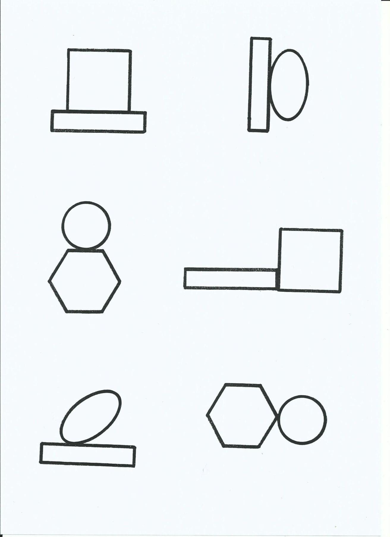 Formenpaare Zuordnen1 Von Tinas Blumenwiese In