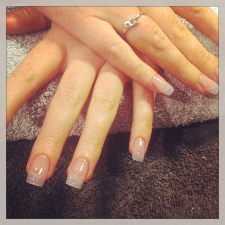 Image Result For Natural Looking Oval Acrylic Nails Acrylic Nail