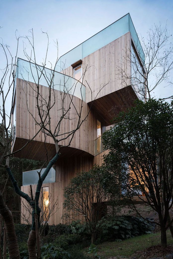 Tree House Hotel In China By Bengo Studio Maison Dans Les Arbres