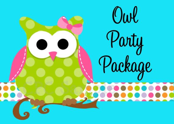 owl decoration for parties - Google Search