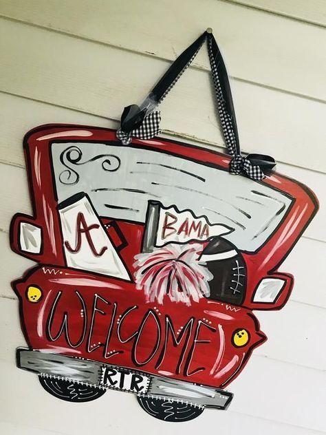 alabama truck door hanger  roll tide  alabama football alabama truck door hanger  roll tide  alabama football alabama truck door hanger  roll tide  alabama football alaba...