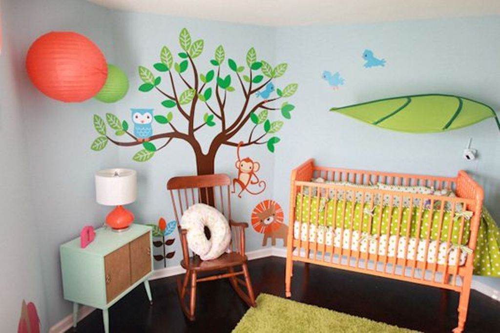 Love This A Super Cute Jungle Theme For Your Nursery The