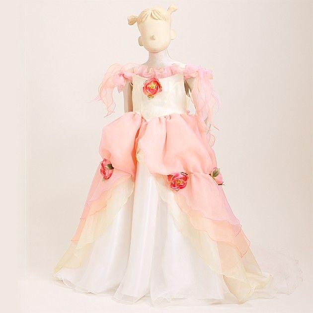 bb667653485ae 子供ドレス 5~7才 ピンクイエロー ka8270の通販はWowma!|旧DeNA ...