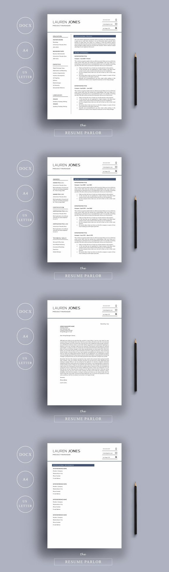 resume 4 page