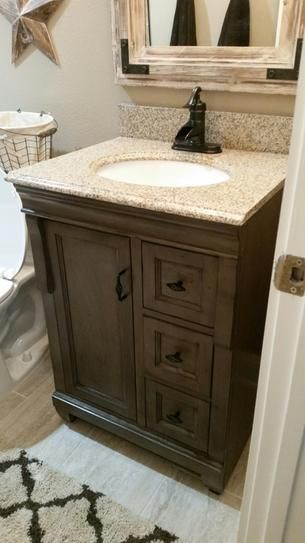 Home Decorators Collection Naples 24 In W X 21 5 8 In D Bath Vanity Cabinet Only In Distressed Grey Nadga2421d Bathroom Farmhouse Style Rustic Bathroom Decor Rustic Bathroom