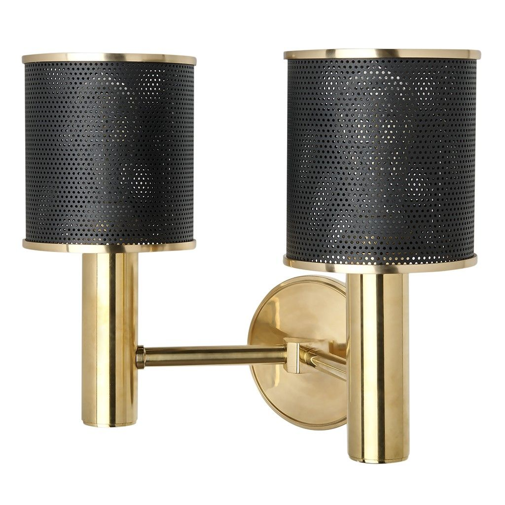 Montecito Wall Mounted Double Arm Sconce | Lighting | Wall Lights | Waterworks