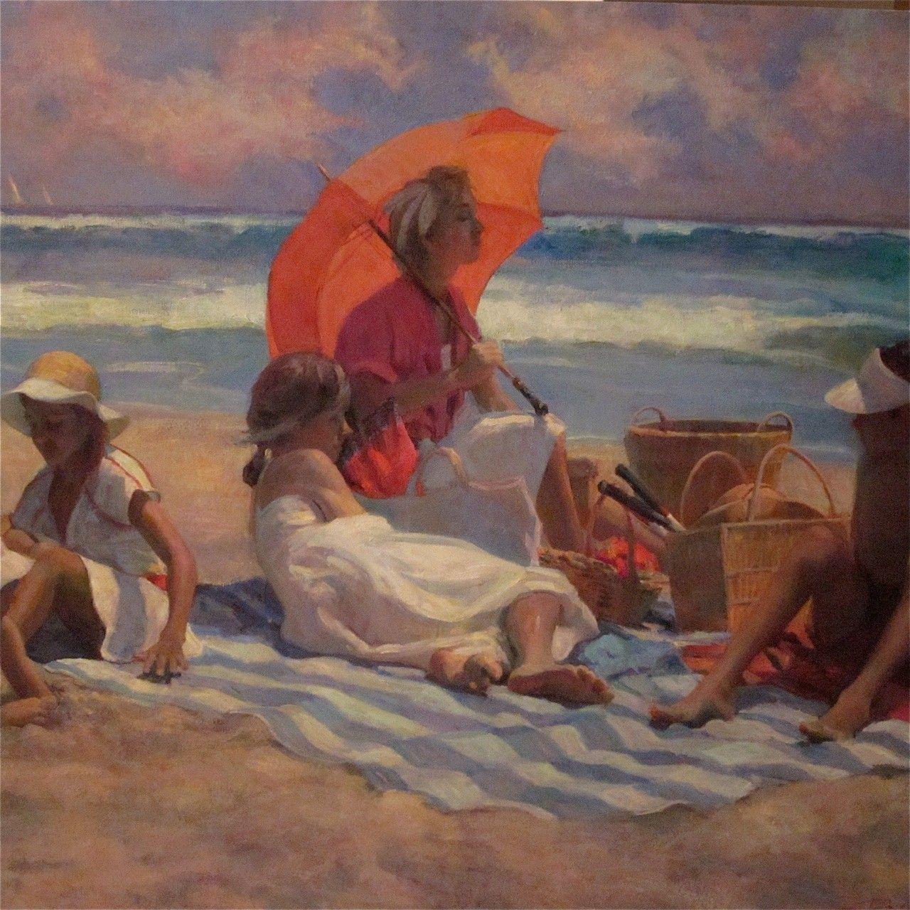 Don hatfield 1947 romantic impressionist painter