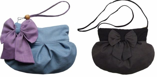 I Like these bags, completely handmade..