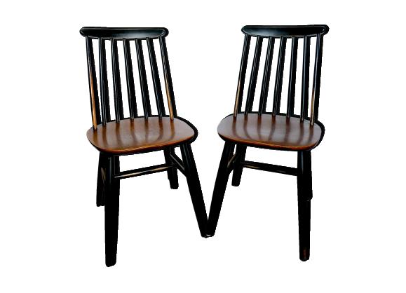 Paire De Chaises Annees 50 Chaise Annee 50 Chaise Chaise Vintage