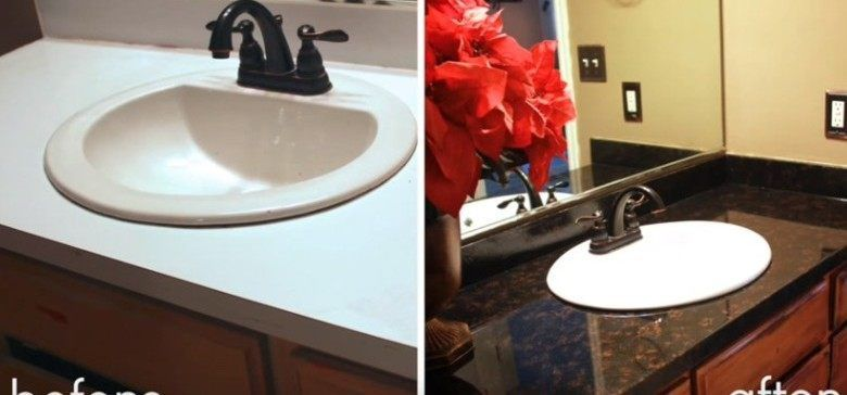 How to Make Your Old Laminate Countertops Look Like Stone