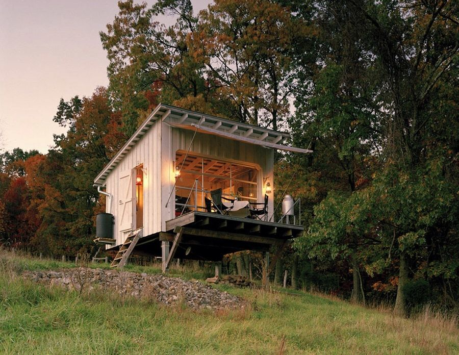 The Shack At Hinkle Farm   West Virginia   Weekend Retreat   Broadhurst  Architects Inc   Exterior   Humble Homes