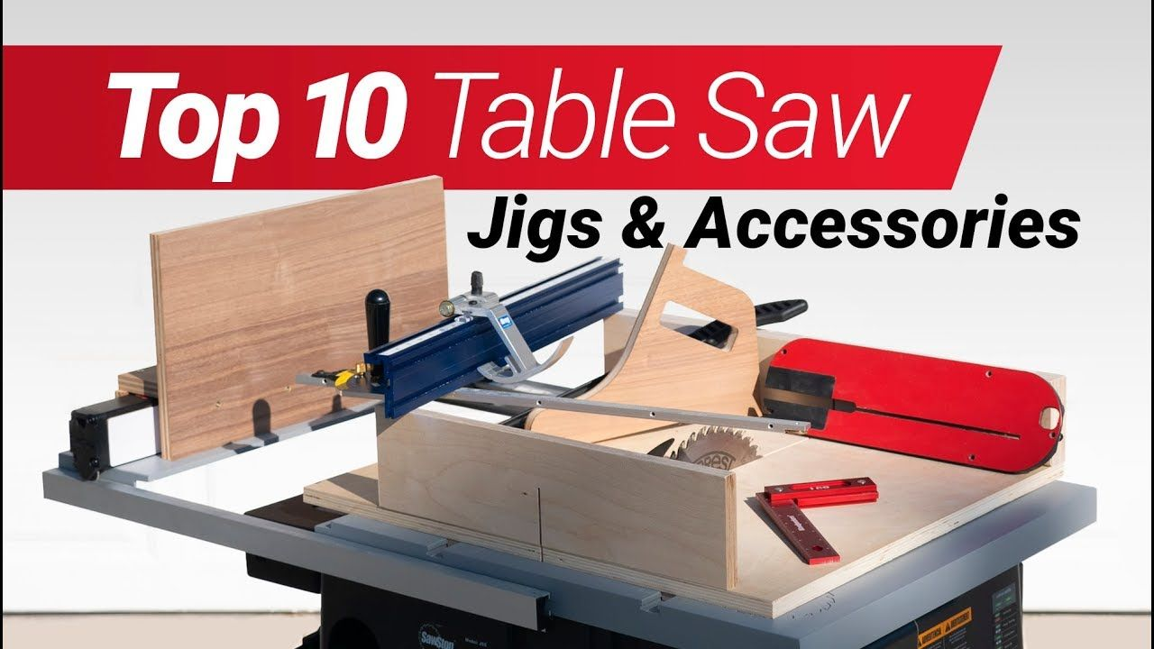 Top 10 Woodworking Table Saw Jigs And Accessories How To Make Them According To Me Youtube Woodworking Table Saw Table Saw Jigs Diy Table Saw