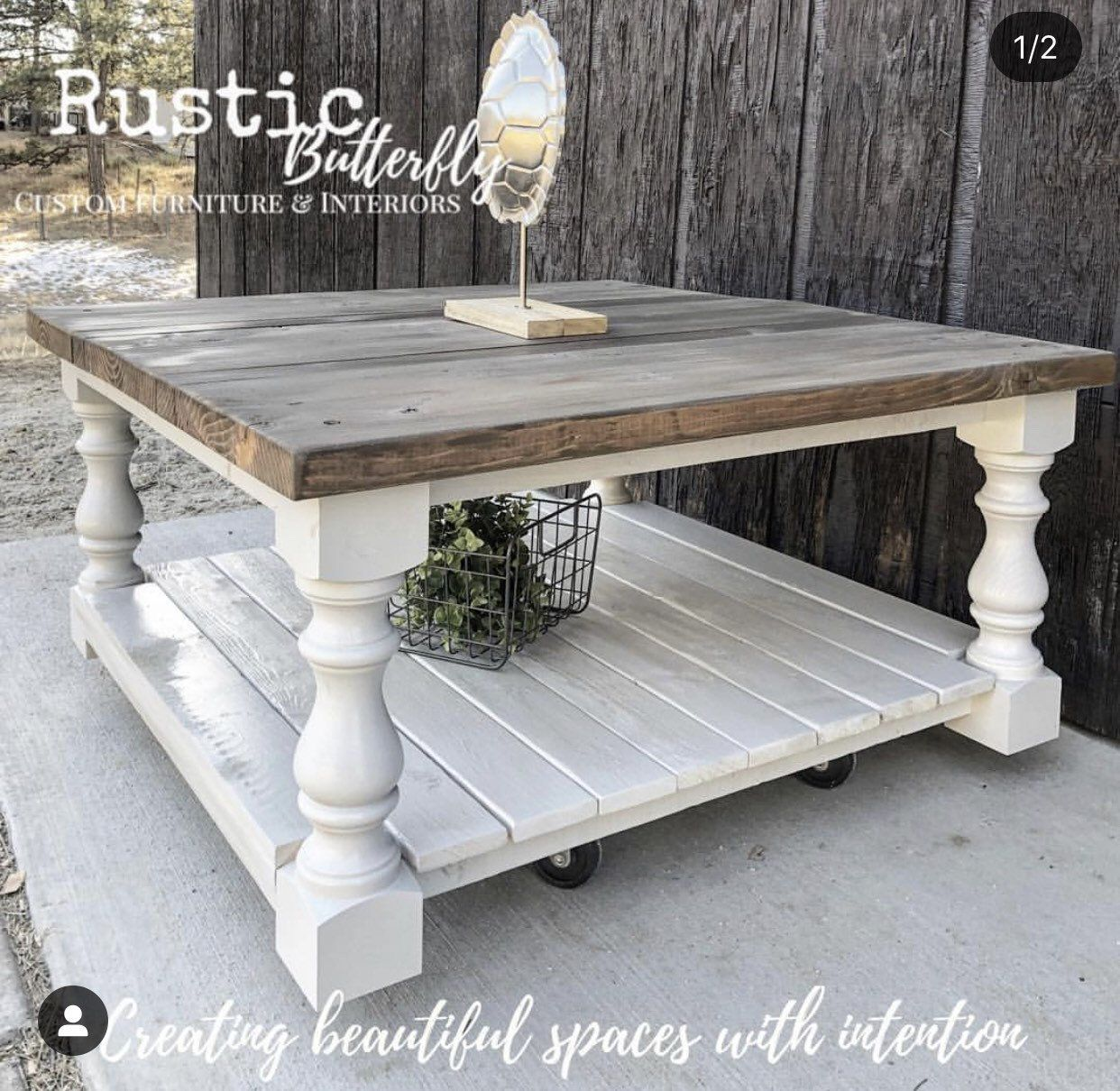 Monastery Chunky Maple Farmhouse Bench Legs Set Of 4 Unfinished Maple 3 5 X 3 5 X 16 Ma In 2020 Coffee Table Farmhouse Living Room Coffee Table Coffee Table