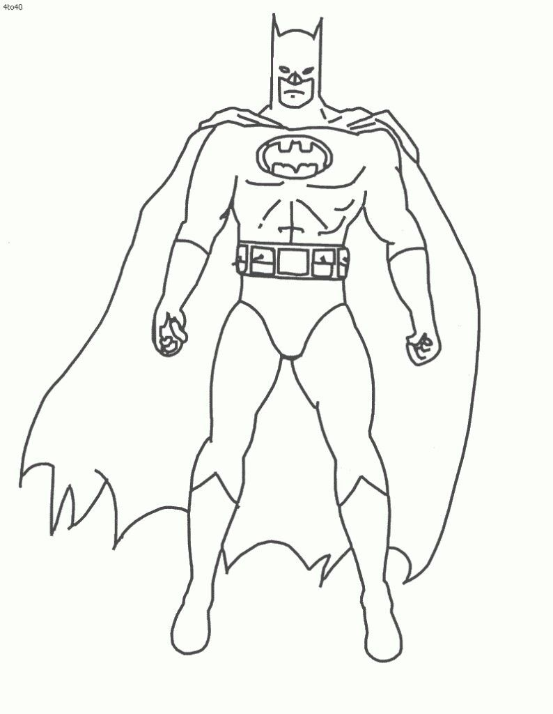 Pin By Erwinthomas Coloring Page On Coloring Page Batman