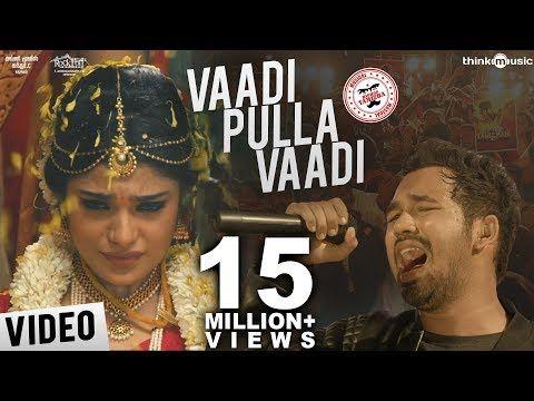 Meesaya Murukku Songs Vaadi Pulla Vaadi Video Song Hiphop Tamizha Aathmika Vivek Youtube Album Songs Tamil Video Songs Songs