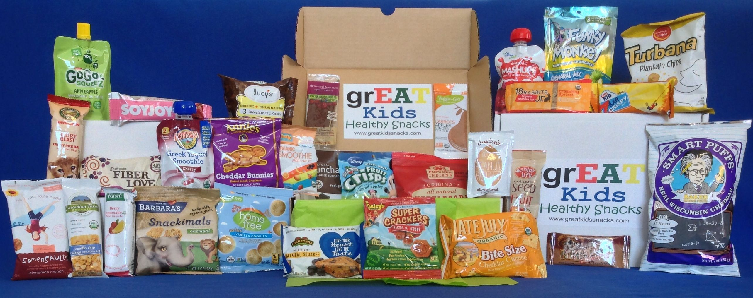 great kids snack box 30 new and different snacks