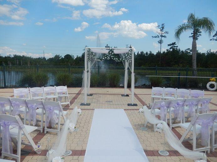 Sheraton Vistana Village Setpup For An Intimate Destination Wedding