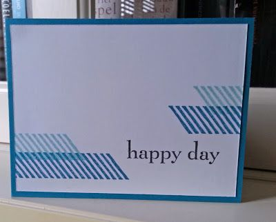 Stampin' Up card Gorgeous Grunge, Happy Day