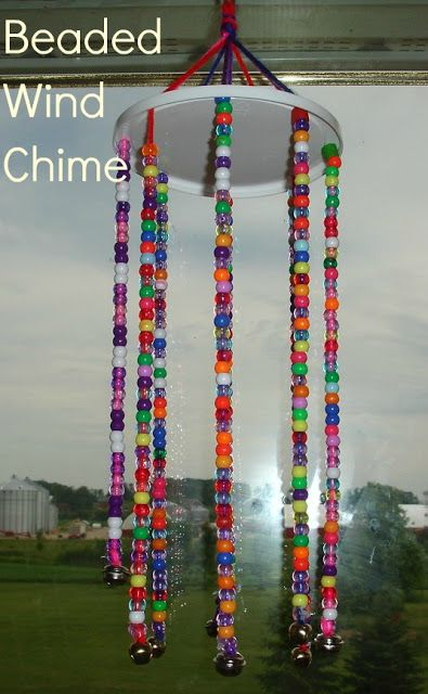 Beaded Wind Chimes For The Sukkah Wind Chimes Kids Wind