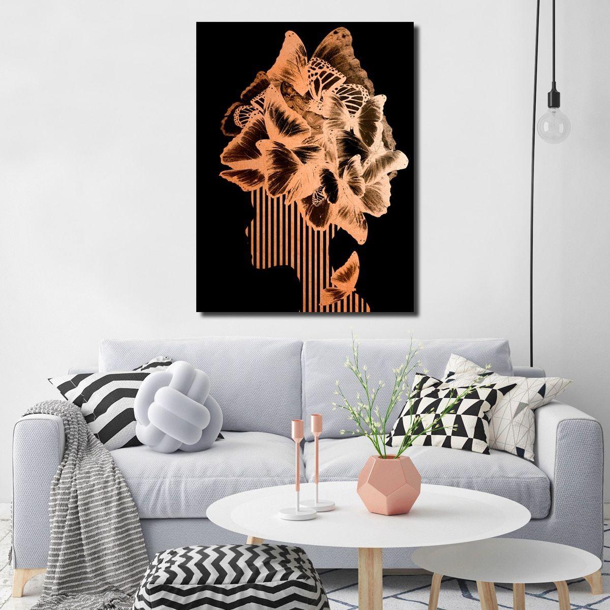 Readyhangart wall decor ugilt mod xviiiu in artplexi products