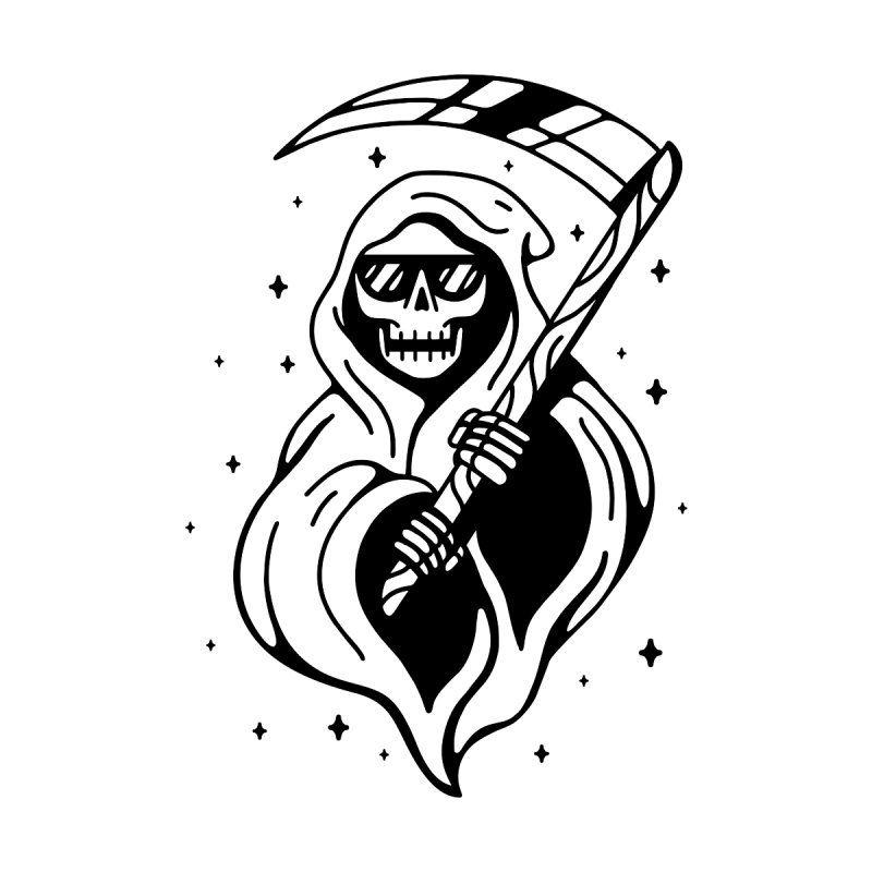 The Grim Reaper In 2021 Traditional Tattoo Art Grim Reaper Tattoo Black Tattoos
