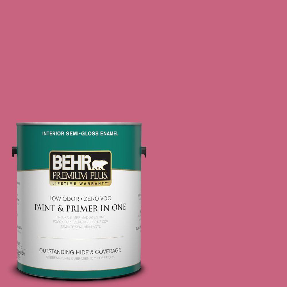 BEHR Premium Plus 5-gal. #P130-6 Ballerina Tutu Flat Exterior Paint ...